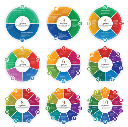 Vector Infographic Options Template