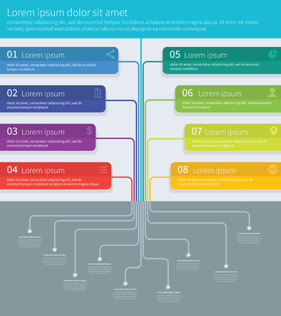 mindmap: Tree process mindmap  infographics