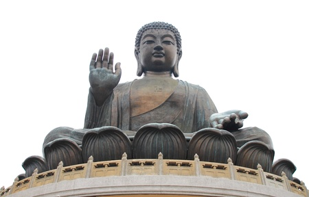 The Tian Tan Buddha in Hong Kong Lantau Island - Po Lin Monastery photo