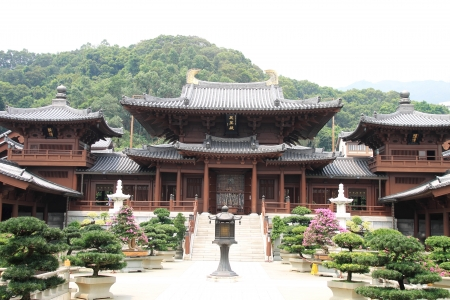 Chi Lin Nunnery, Hong Kong Stock Photo - 15854770