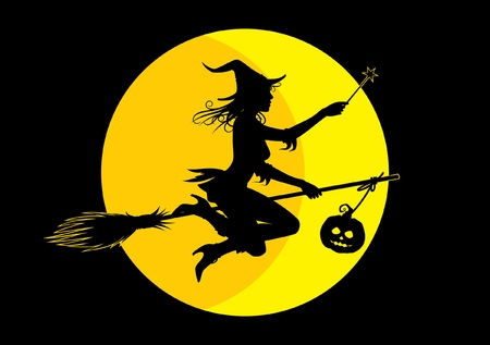 wiedźma: Halloween czarownica
