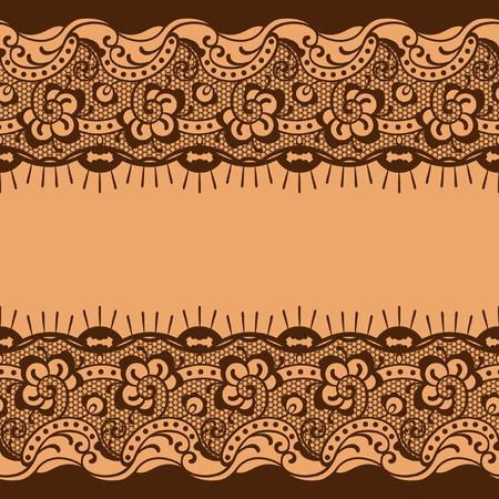 curio: lace background