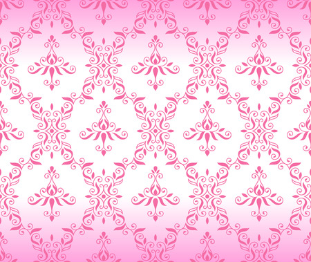 retro pink pattern jointless background