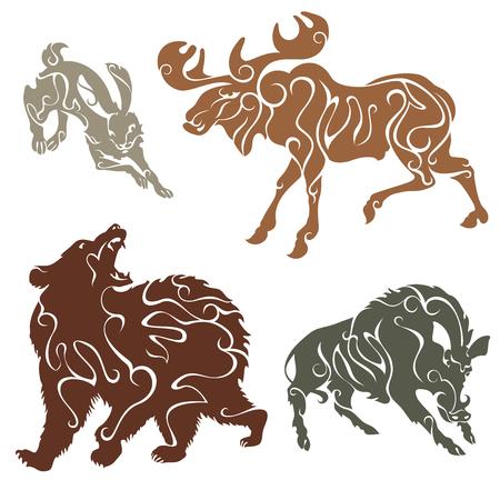 lair: Hare, wild boar, elk, bear