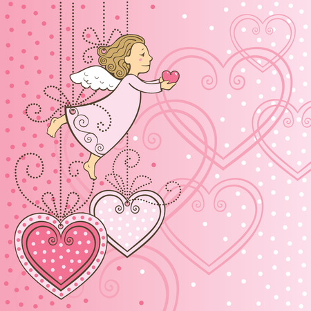 card for loved one Ilustrace