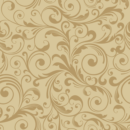 decoretive damask pattern background