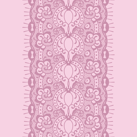 seamless lace Reklamní fotografie - 76484908