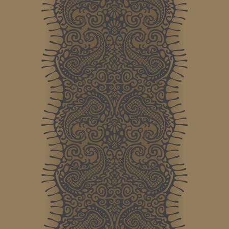 seamless lace Reklamní fotografie - 76484911