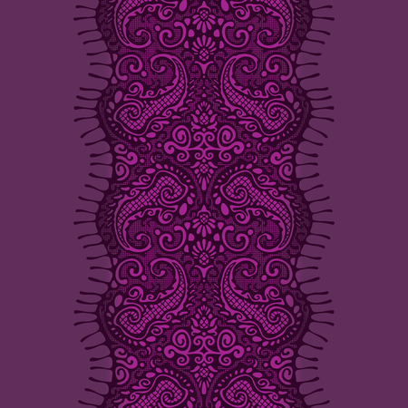 seamless lace Reklamní fotografie - 76484909