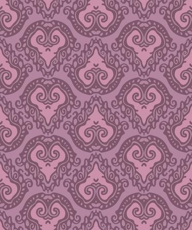 lace seamless pattern with heart Reklamní fotografie - 76484931