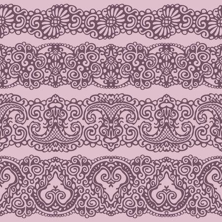 seamless lace Reklamní fotografie - 76484933