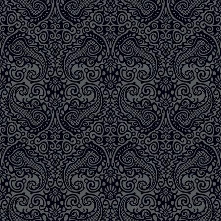 lace seamless pattern Reklamní fotografie - 76484937