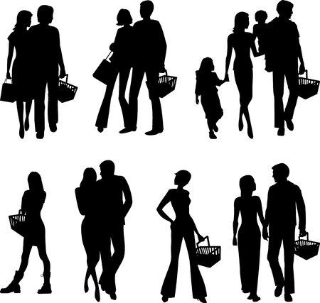 People in the store. Reklamní fotografie - 76486564