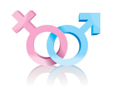 Male and Female symbol
