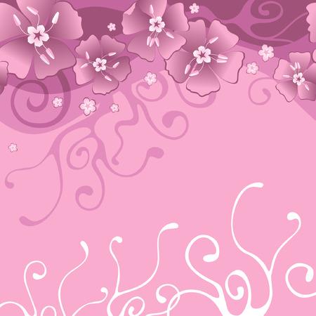 background with flowers Reklamní fotografie - 76484991