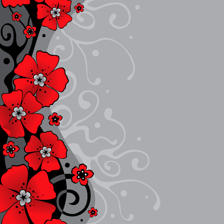 jointless: background with flowers