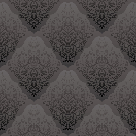 Elegant decoretive damask pattern background
