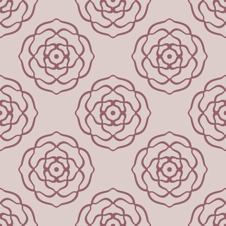Fashionable decoretive damask pattern background with rose Reklamní fotografie - 76396713