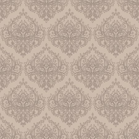 Gray seamless lace pattern Reklamní fotografie - 76396737