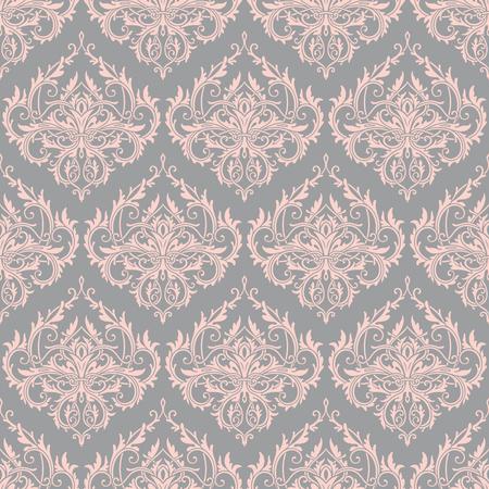 Flourished seamless lace pattern Illustration