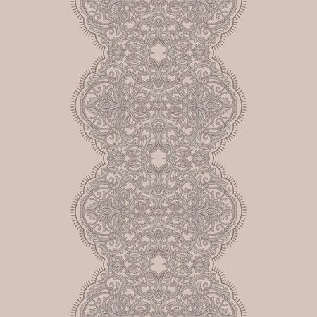 Cool lace ribbon seamless pattern