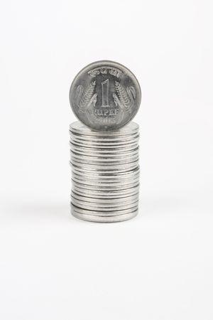 rupee: 1 rupee coin