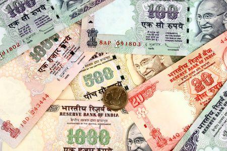 rupee: india money Stock Photo