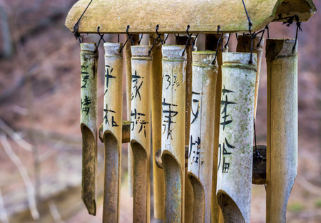 influenced: Asian Influenced Bamboo Wind Chimes