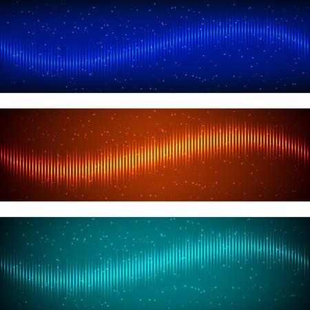 Abstract equalizer color geometric background. Vector illustration Illustration