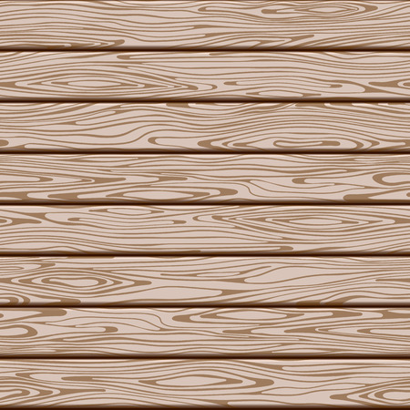 Seamless wood brown background pattern from boards. Vector illustration. Banque d'images
