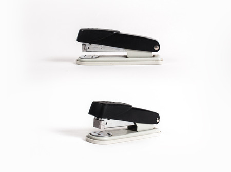 office stapler on a white background isolated