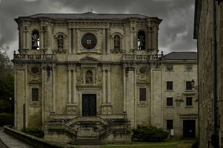 Monastery of Samos Church entrance 写真素材 - 112551391