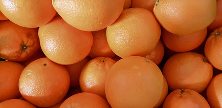 Tangerines ready to sell and eat