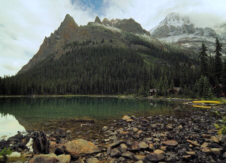 Solitude And Tranquillity In The Wilderness Of Lake O'Hara Yoho National Park