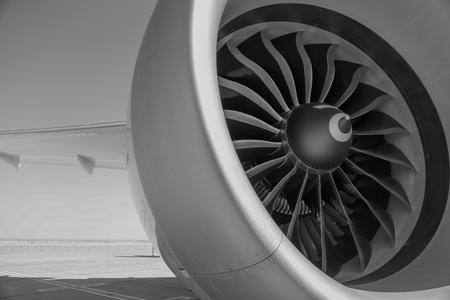 Airbus Jet Engine Stock Photo