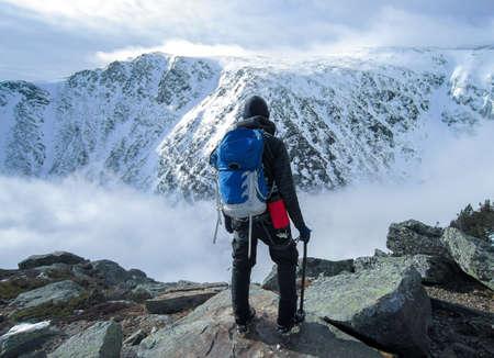 Looking at Mont Washington Reklamní fotografie