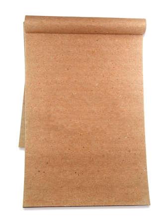 notepad isolated on white background Stock Photo