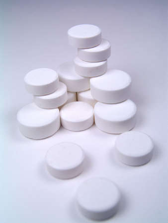 group of white pills