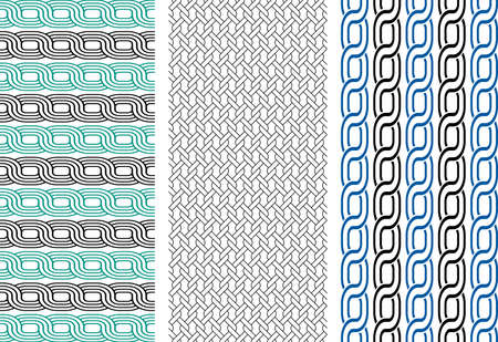 knitted background: seamless vector pattern
