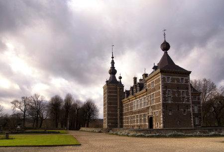 limburg: Castle Eijsden near the river Maas between the villages Eijsden and Laag-Caestert in the Dutch province Limburg