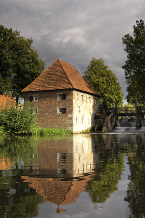 watermill: Watermill Mallumsche the near Eibergen mill in the Dutch region Achterhoek