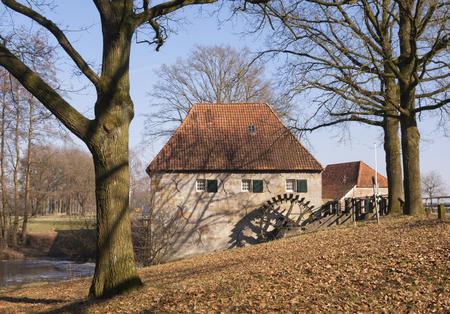 molino de agua: The Mallumsche watermill near Eibergen in the Dutch region Achterhoek