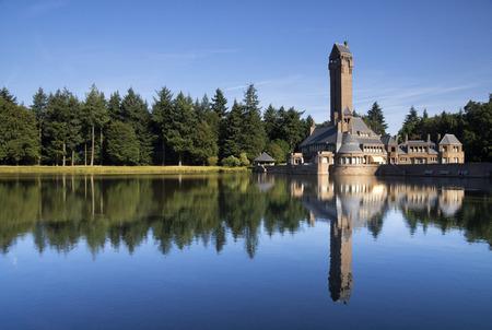 Hunting lodge Sint-Hubertus near the Dutch village Otterlo in the nature reserve National Park De Hoge Veluwe