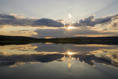Lake Raudsjon in Norway