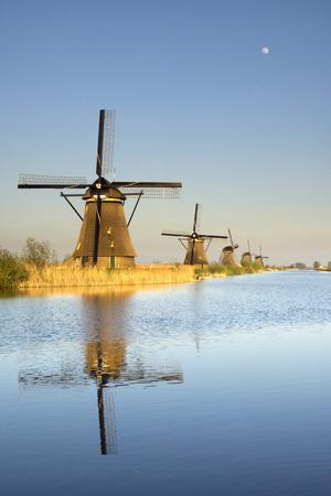 watermanagement: The windmills in Kinderdijk