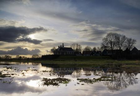 The former island of Schokland