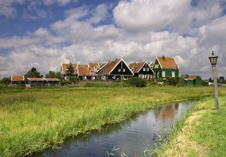 The hamlet Grotewerf on Marken