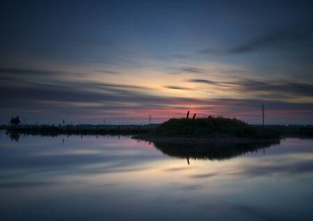 Sunset near Sliedrecht