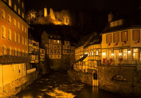 Monschau by night