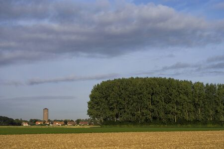 Landscape near Uppel 版權商用圖片